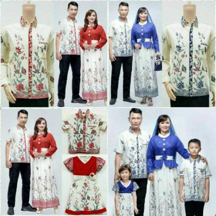 harga Baju batik couple keluarga | srg kupu gamis evalia | pabrik grosir Tokopedia.com