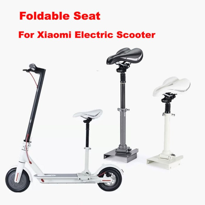 harga Foldable shock absorbing chair for xiaomi electric scooter Tokopedia.com
