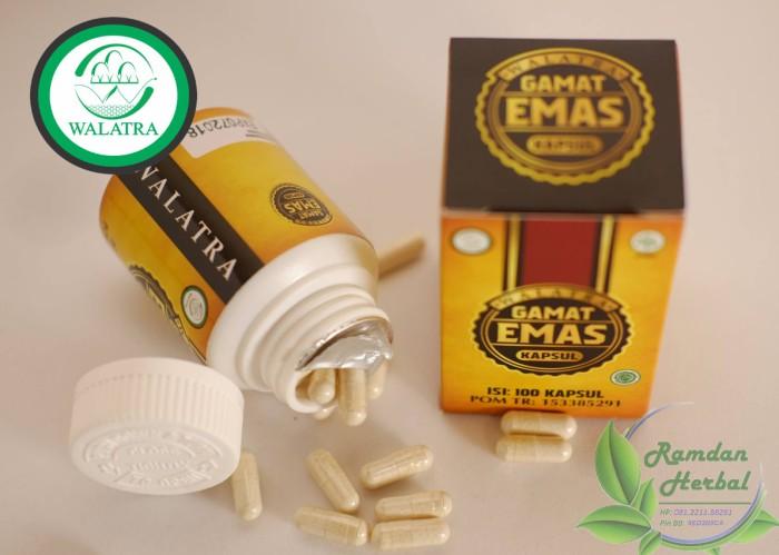 Foto Produk Walatra Gamat Emas Kapsul Asli Original dari Kolom Herbal