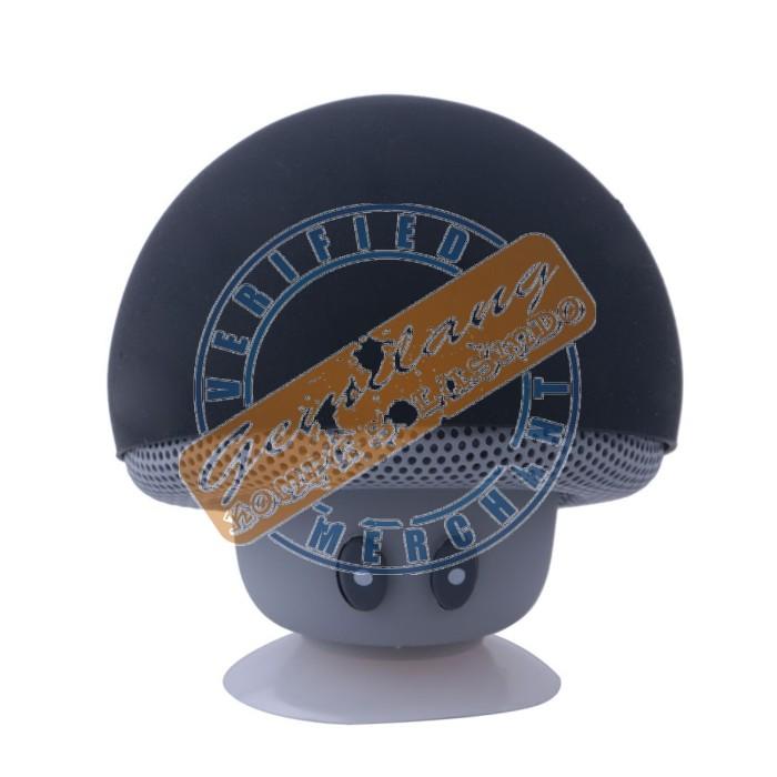 harga Portable mini mushroom wireless bluetooth speaker jamur new black Tokopedia.com