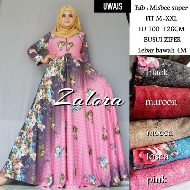 harga Gamis/dress /maxy Zalora Tokopedia.com