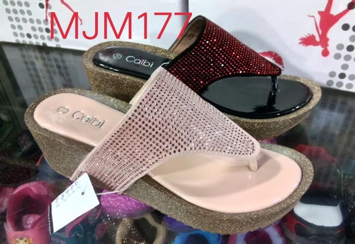 Jual sandal calbi jdx 1291 salim - Merah Muda 86d5e8ec80