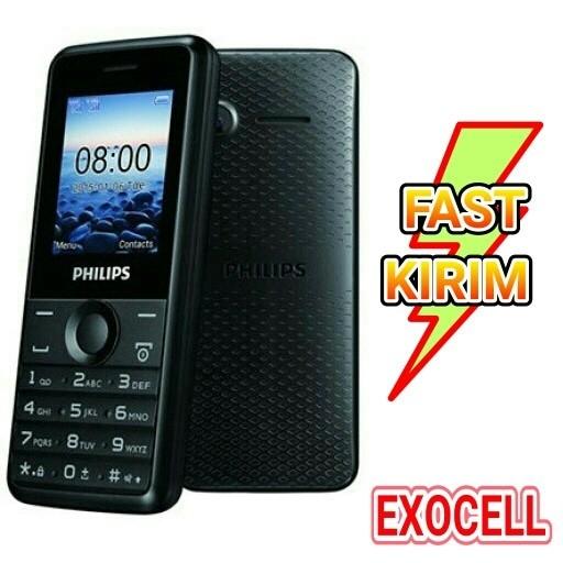 harga Phillips e103 dual sim slot memory mp3 handphone baru Tokopedia.com