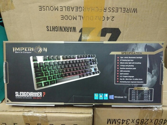 Imperion SLEDGEHAMMER 7 Keyboard Gaming TKL