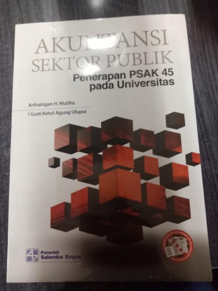 harga Buku akuntansi sektor publik penerapan psak 45 universitas Tokopedia.com