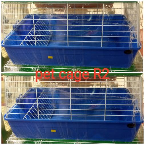 harga Dayang R2 - Pet Cage (kandang U/kelinci,guinea Pig, Landak) -biru Tokopedia.com