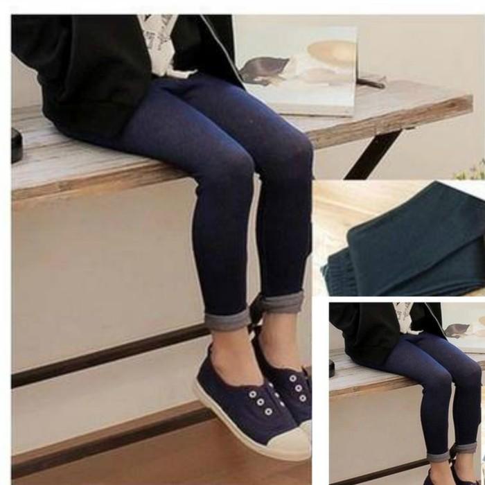 Jual Legging Kids Impor Jegging Legging Denim Anak Navy Jakarta Timur Aa Baby Kids Mom Shop Tokopedia