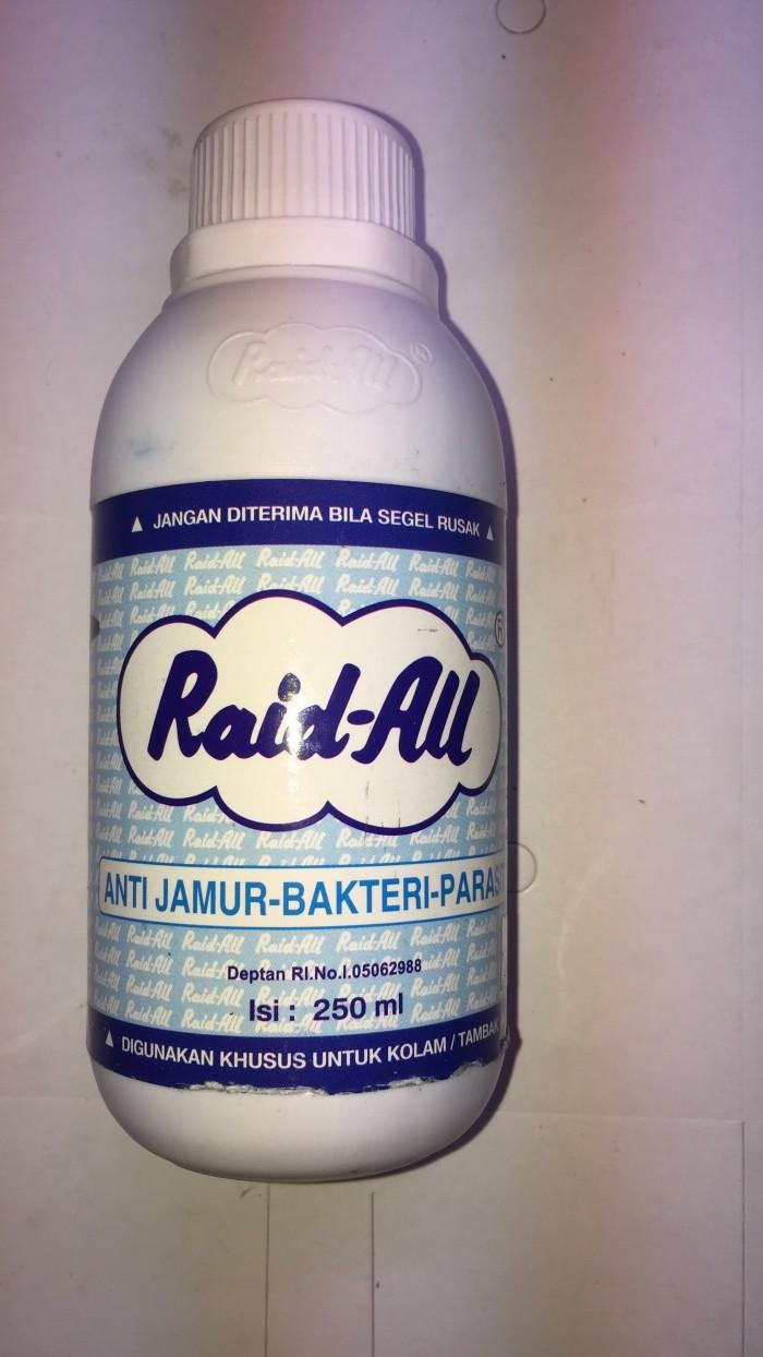 Jual Raid All Anti Jamur Bakteri Parasit 250 Kota Surabaya Iwak Ku Aquarium