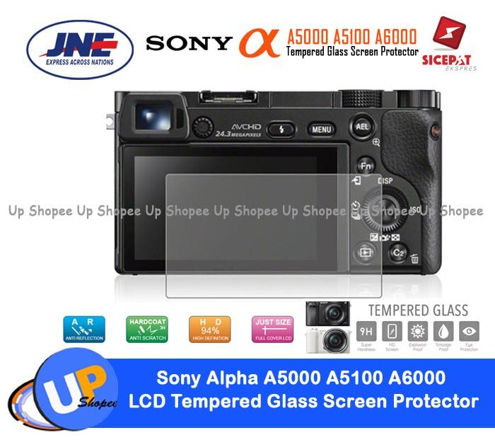 harga Sony alpha a5000 a5100 a6000 lcd tempered glass screen protector Tokopedia.com