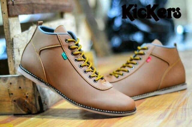 Jual Sepatu Casual Pria Kickers Orlando Grade Original NMZs 002765 ... 7674e870d2