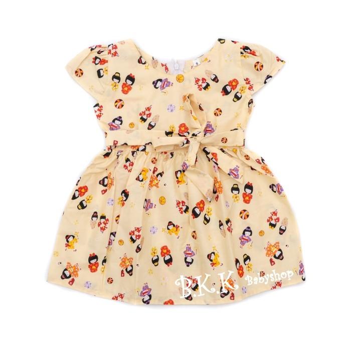 harga Sabina dress baju bayi anak perempuan oshin cream Tokopedia.com