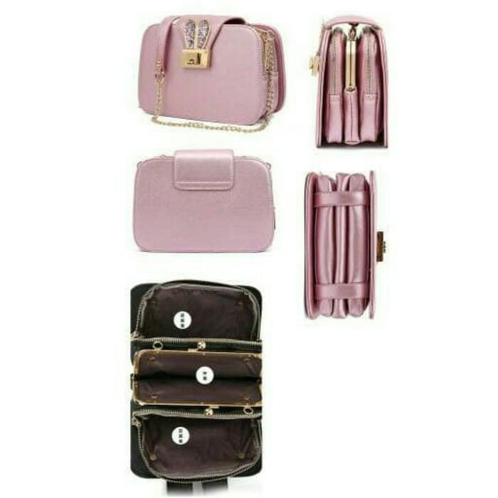 Slingbag Keren B2808 - Tas Selempang Modis - Tas Fashion Wanita Import