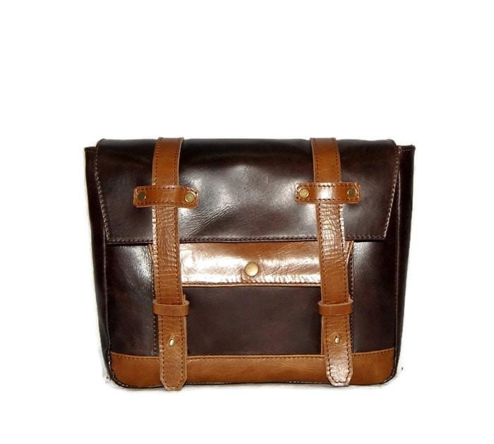 harga Tas motor kulit asli side bag - saddle bag - mark - w175 cb triumph Tokopedia.com