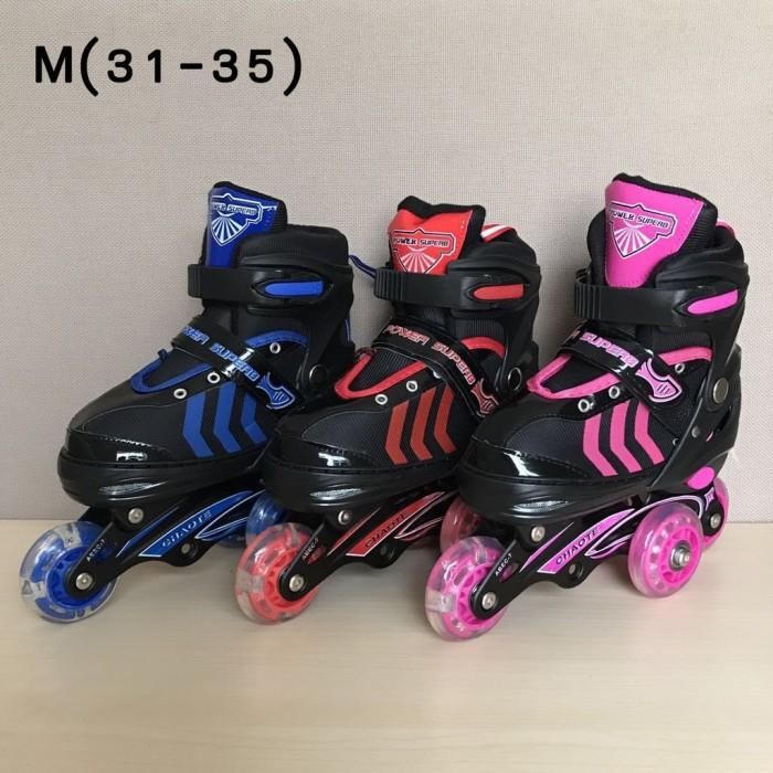 Jual grosir Sepatu Roda Anak Power Inline Skate POWER SUPERB Model ... 558763d2cb