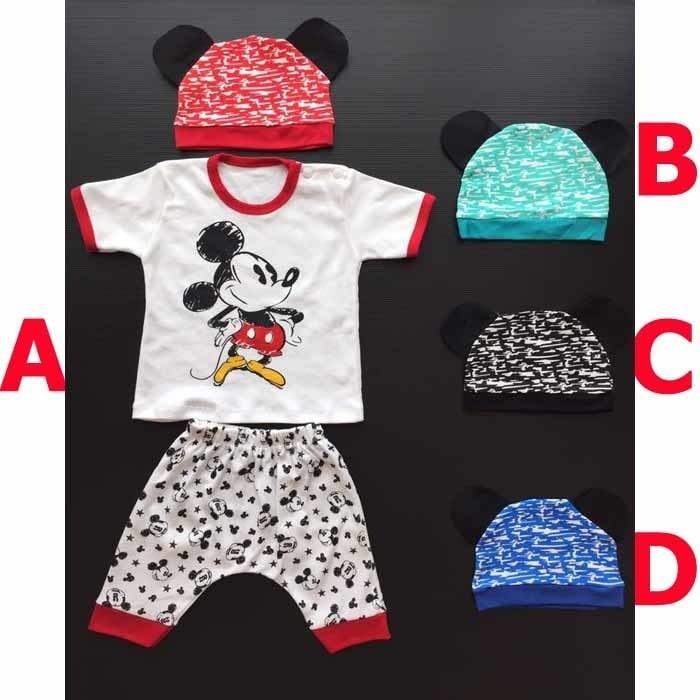 Jual Baju Bayi Laki Laki Lucu Setelan Topi Mickey Vos New Kota Tangerang Selatan Koleksi Bayi Tokopedia