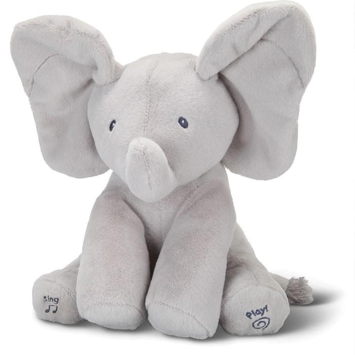 Foto Produk boneka mainan anak bayi peek a boo gajah cilukba bernyanyi dari reuneuy