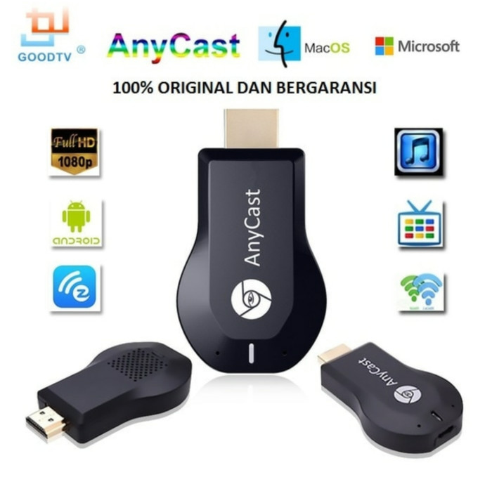 harga Anycast hdmi dongle wifi receiver bukan ezcast Tokopedia.com
