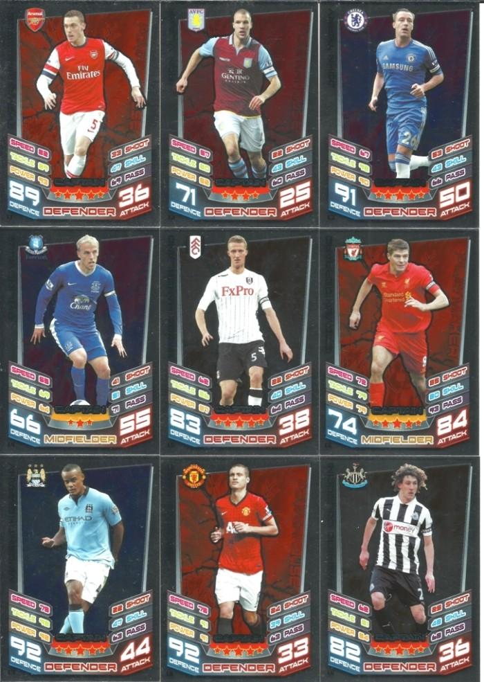 harga Kartu sepak bola match attax original season 2012-13 captain Tokopedia.com