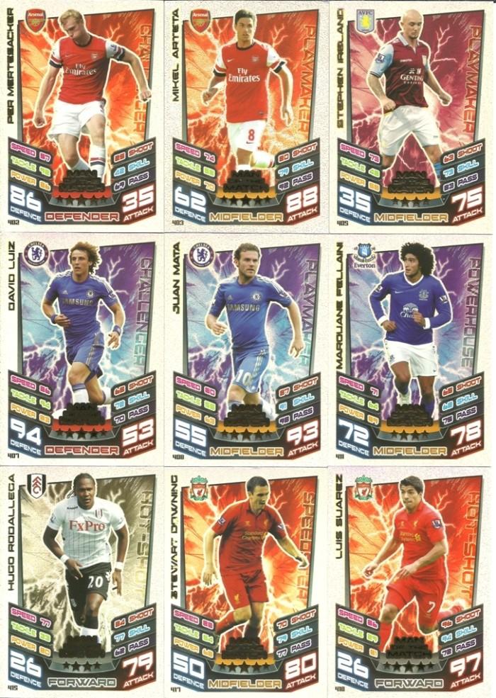 harga Kartu sepak bola match attax original season 2012-13 man of the match Tokopedia.com