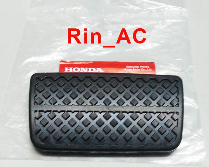 harga Karet cover pad pedal rem / stop honda brio brv mobilio hrv matic asli Tokopedia.com
