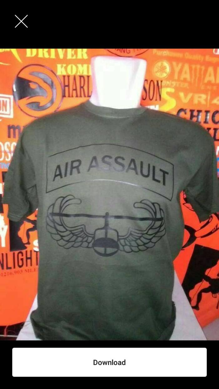 Jual Baju Atasan Kaos Tshirt AIR ASSAULT Jakarta Timur DOUBLE MAN APPAREL