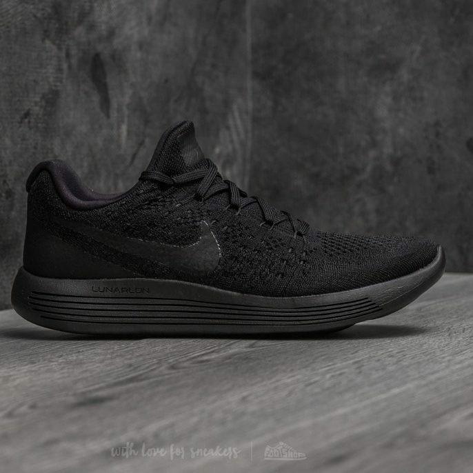 3cd4527ac9e3 Nike Lunarepic Flyknit 2 Triple Black Premium sepatu Nike sneakers new