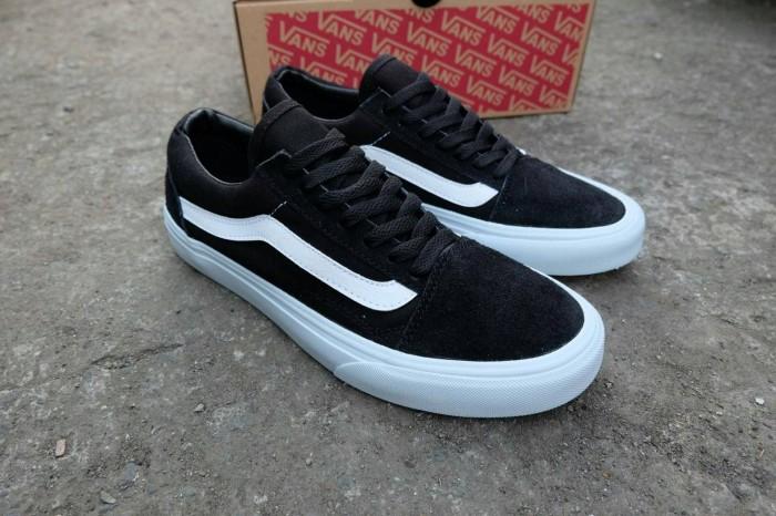 harga Sepatu Vans Oldskool Mono Black White Wafle Ifc Premium Quality Tokopedia.com