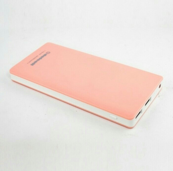 NEW POWERBANK DELCELL ECO SLIM REAL CAPACITY 10000MAH SLIM ORIGINAL