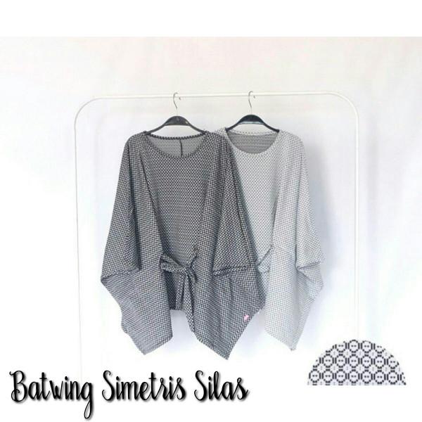 harga Dr- jumbo batwing simetris blouse jumbo big size atasan murah kalong Tokopedia.com