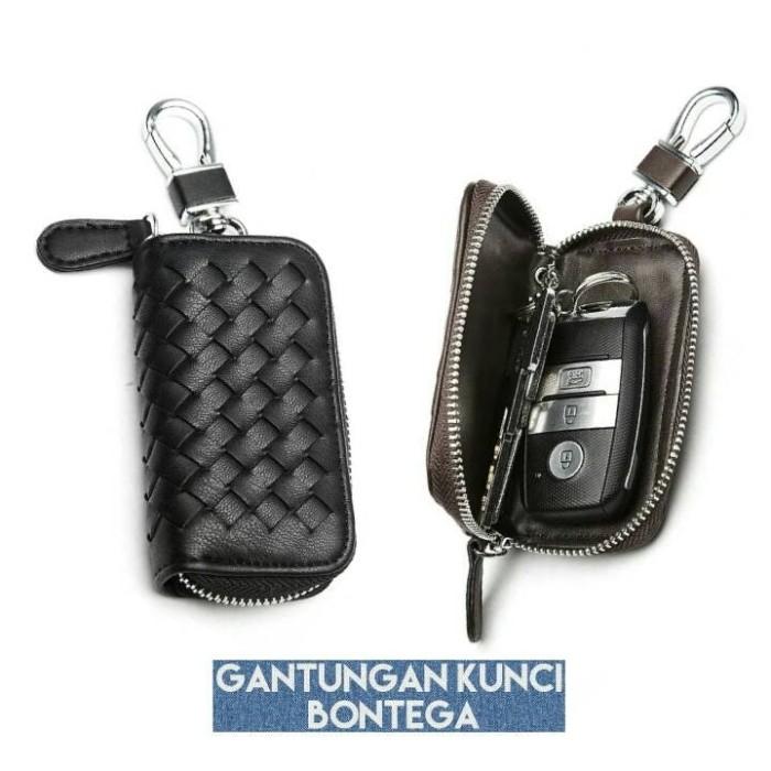 WVJ3 Dompet gantungan kunci mobil motor impor BONTEGA