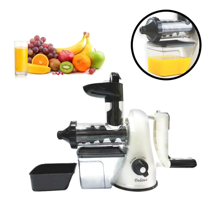 Dodawa Manual Slow Juicer Mesin Jus DD830 DD-830 DD 830 DD-810 DD