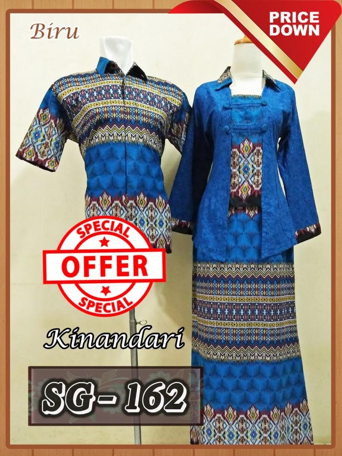 harga Sarimbit gamis batik couple baju pasangan batik pekalongan murah 9 Tokopedia.com