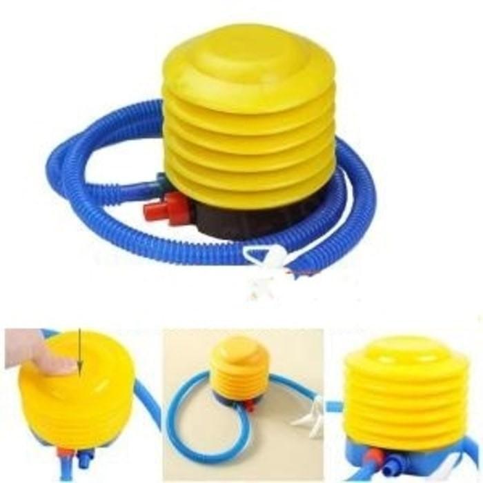 harga Pompa angin balon injak manual / air pump ban renangbalonkasurdll Tokopedia.com