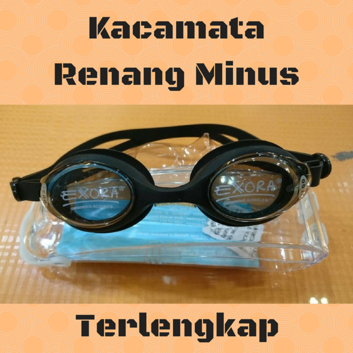 Jual Murah Kacamata Renang Minus -1.5 1a0af66d99