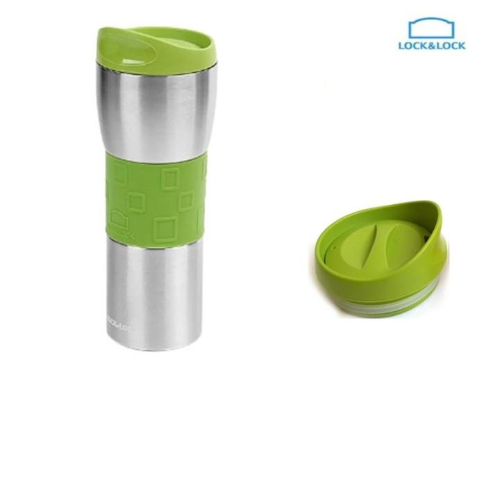 lock & lock bottle lollypop travel mug lhc4013 420ml - (lhc4013)