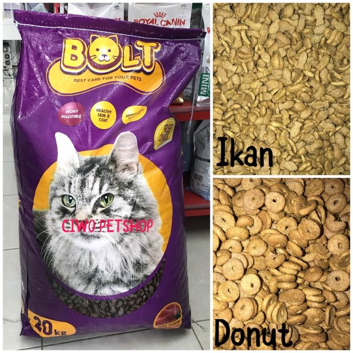 harga Makanan Kucing Murah Bolt Tuna - Bolt Tuna 20 Kg Free 2 Kg Tokopedia.com