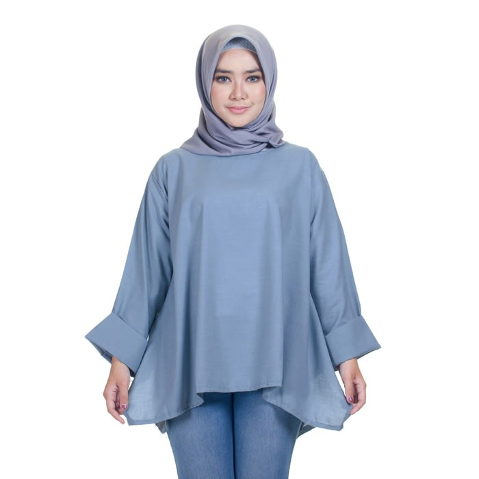 Grosir Baju Atasan Muslim Wanita Hijab Murah Dan Terbaru Mahven Puff ... 6ba0dcf5cc
