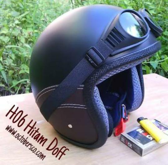 harga Kacamata helm model pilot skuter klasik retro chip Tokopedia.com