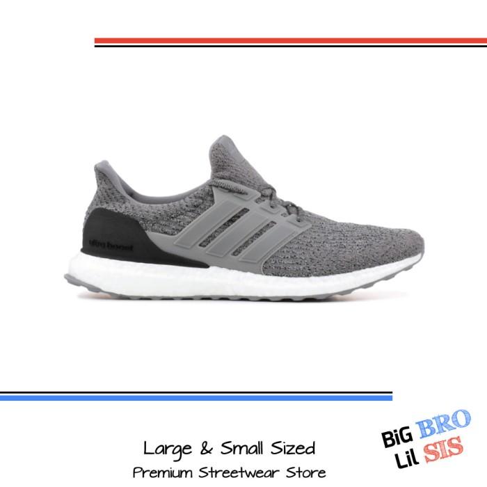 Jual Sepatu Adidas Ultra Boost 3.0 Grey Three size 46.7 Sneaker UB Kets DKI Jakarta Big Bro Lil Sis | Tokopedia