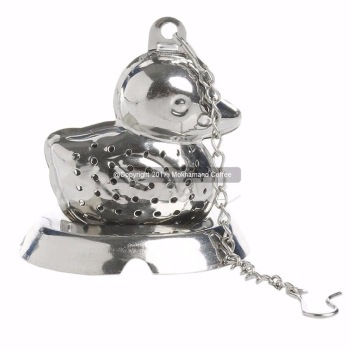 Promo Mokhamano Saringan Teh Kopi Bebek Infuser Tea Herbal Stainer M