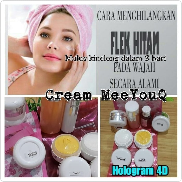 Cream wajah meeyouq 15 gram original product + holo asli myq