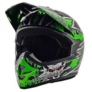 Helm cargloss mxc timberwolf green deep black