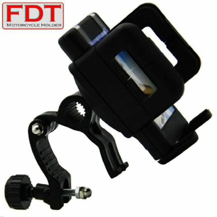 ... harga Fdt phone holder motor holder hp di stang atau di spion motor Tokopedia.com