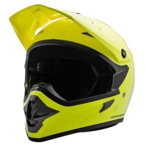 Helm cargloss mxc motocross fz yellow