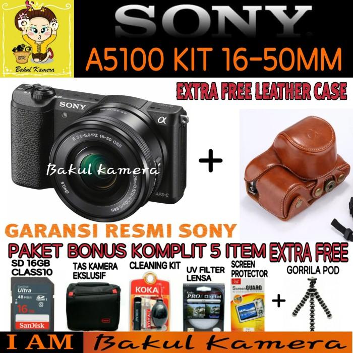 harga Sony alpha a5100 l kit lensa sel 16-50mm / ilce-5100l / alpha a5100 Tokopedia.com