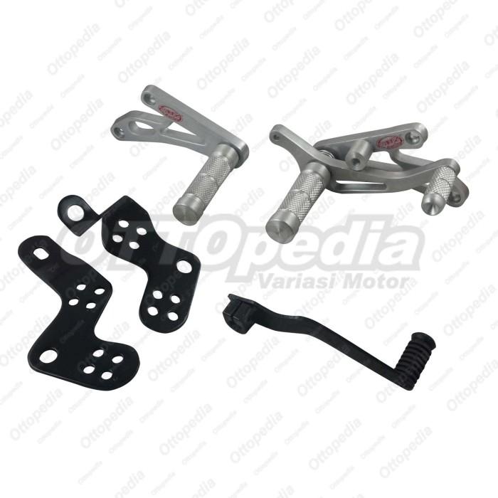harga Footstep depan - underbone combiz jupiter z new - z1 silver Tokopedia.com