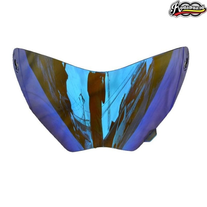 harga Kaca helm snail mx311 supermoto iridium blue Tokopedia.com