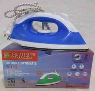 harga S-112 setrika spray steam iron sanex pakaian lebih rapi maksimal Tokopedia.com
