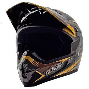 Helm cargloss mxc supertrack ice brown black doff