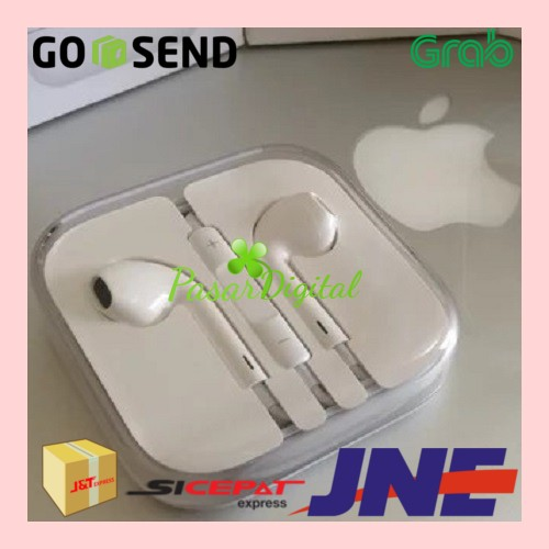 harga Headset earphone handsfree earpods apple iphone 5 ipad mini original Tokopedia.com